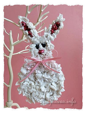 Easter Craft for Kids - Paper Easter Bunny