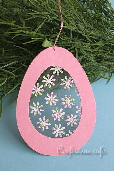 Easter Craft For Kids Easter Egg Suncatcher