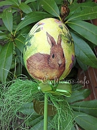 Easter Egg Plant Stick