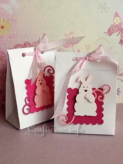 Easter Goodie Bags with Easter Bunnies 2