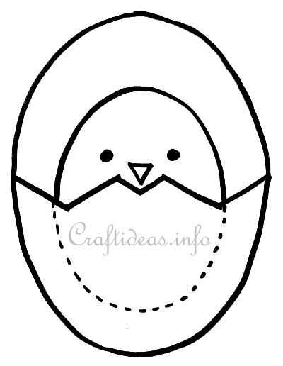 Free Pattern for Chick and Egg