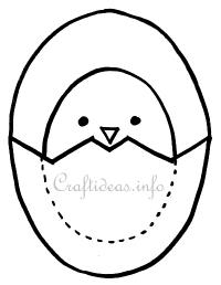 Easter Pattern - Chick and Egg