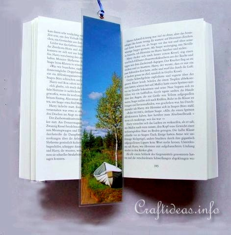 Easy Bookmarker for Kids to Craft in the Summer