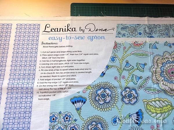 Easy to Sew Apron Pattern