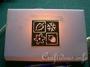 Embossing with the Light Box 2
