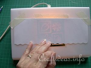 Embossing with the Light Box 3