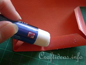 Example 5 - Adding glue to the flaps