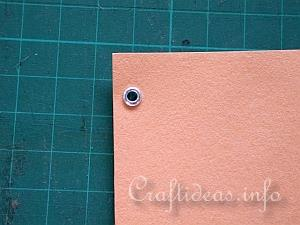 How To Use Craft Eyelets