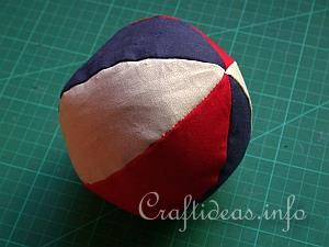 Fabric Ball 8
