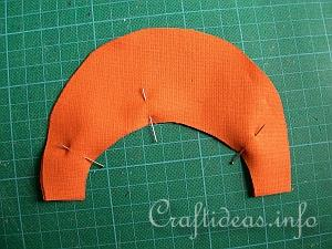 Fabric Pumpkin Sewing Tutorial 1