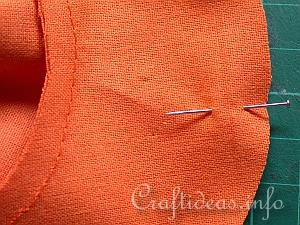 Fabric Pumpkin Sewing Tutorial 3