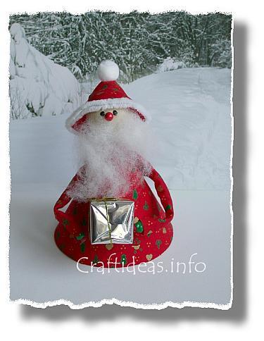 Santa Decoration Fabric_and_Sewing_Crafts_-_Christmas_Crafts_-_Santa_Decoration_b