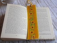 Fall Craft for Kids - Easy to Make Bookmarker with Sunflowers