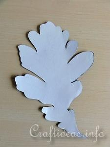 Fall Craft for Kids - Paper Mosaic Leaves Tutorial 2