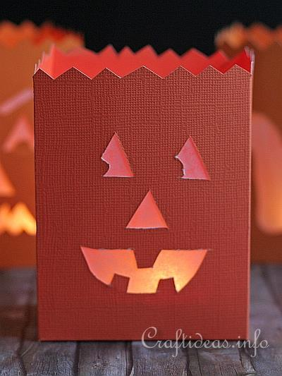 Halloween Paper Craft Project
