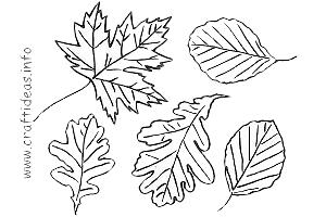 Fall Season - Patterns, Templates and Coloring Pages