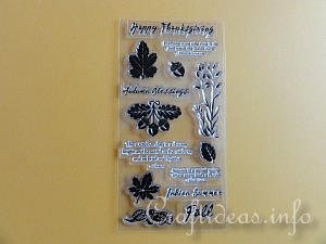 Fall Silicone Stamps