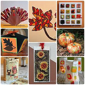Fall, Halloween and Thanksgiving Paper Crafts