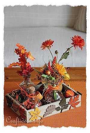 Fall or Autumn Decoration For the Home