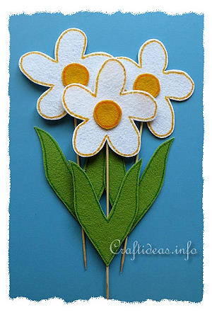 Daisy Flower Craft Ideas