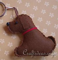 Free Craft Patterns Felt Dog Template