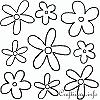 Flower Bouquet Templates
