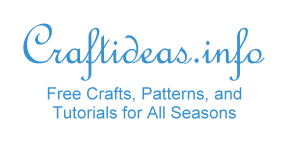 Free Craft Ideas, Tutorials and Templates
