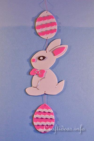 Fun Foam Easter Bunny Mobile