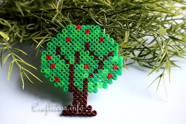 Fuse Bead Apple Tree