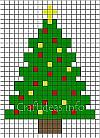 Fuse Beads Christmas Tree Pattern