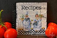 Gift Idea to Craft - Recipe Book