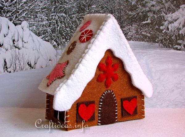 Gingerbread House - Left Side