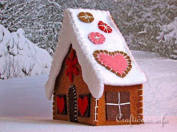 Gingerbread House - Right Side