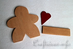 Gingerbread Man Pieces
