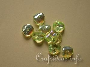 Glass Chips Beads