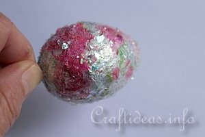 Glittery Easter Eggs - Tutorial 8