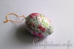 Glittery Easter Eggs - Tutorial 9