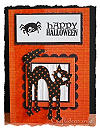 Halloween Card - Happy Halloween with Black Cat