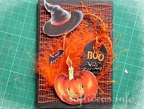 Halloween Card Tutorial 14