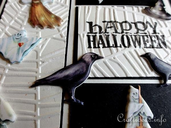 Halloween Card With Puffy Motifs 2