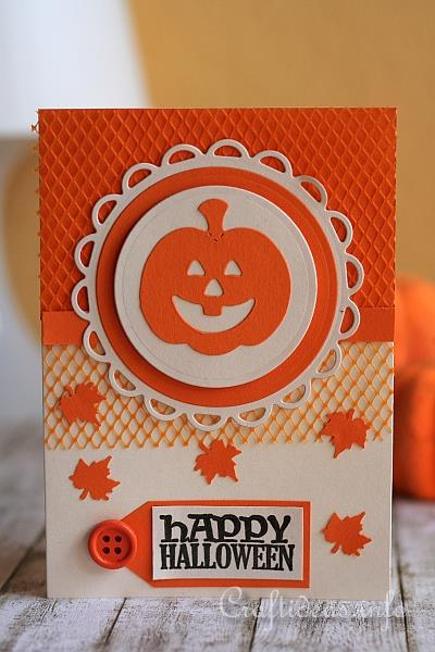 Halloween Greeting Card or Invitation - Pumpkins Invitation Card