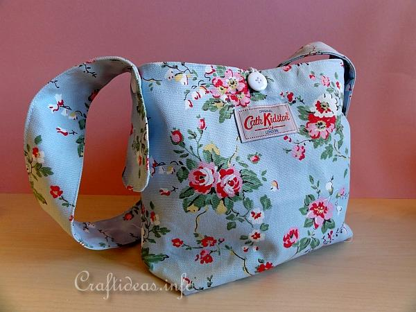 Handbag Using Cath Kidston Fabric