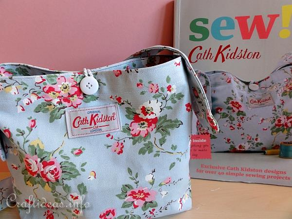 Handbag Using Cath Kidston Fabric 2