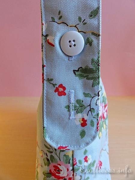 Handbag Using Cath Kidston Fabric Detail