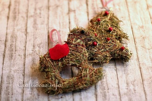 Christmas Crafts For Kids Recycling Craft Natural Looking Hay