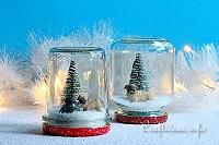 House Pets Faux Snow Globe