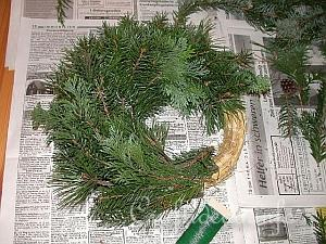 How to Make a Wreath 10