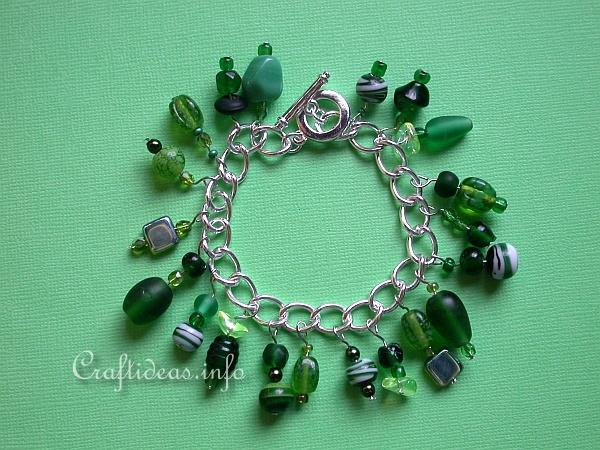 Jewelry Craft - Tropical Charm Bracelet 2