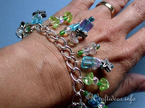 Jewelry Craft - Tropical Charm Bracelet 3