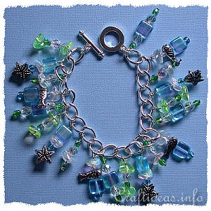 Jewelry Craft - Tropical Charm Bracelet
